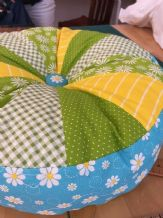SPROCKET CUSHION SEWING WORKSHOP - BEGINNERS 10AM TO 1PM SUNDAY 1st NOVEMBER 2020